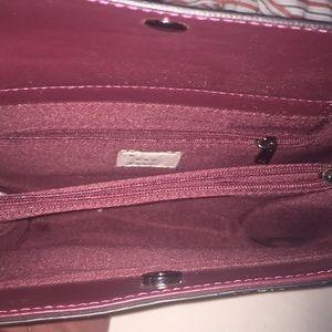 Burgundy Crossbody handbag